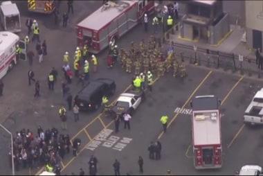 Passenger: 'People jumped through windows'