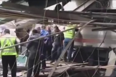 NJ Gov.: Train engineer critically injured...