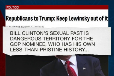 Trump threatens to bring up Monica Lewinsky