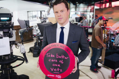 Willie Geist Wants to Take Care of our Vets