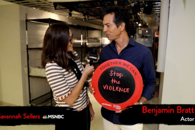 Benjamin Bratt Wants to Stop the Violence