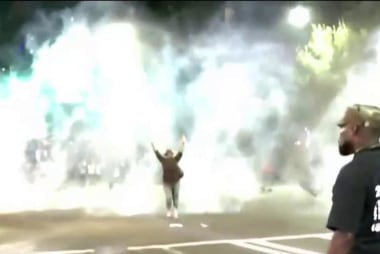 Tear gas, arrests at Charlotte protests