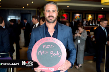 Taylor Kinney Wants Everyone to Read More...