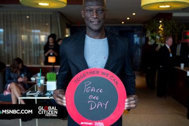 Peter Mensah Wants Peace One Day