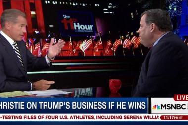 Exclusive: Christie discusses Trump campaign