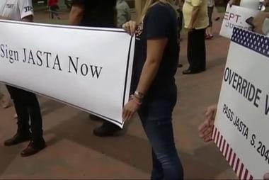 Congress overrides 9/11 bill