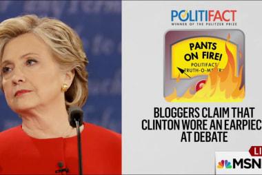 Politifact: Fact checks candidates statements