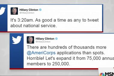 Clinton camp mocks Trump with 3AM tweet storm