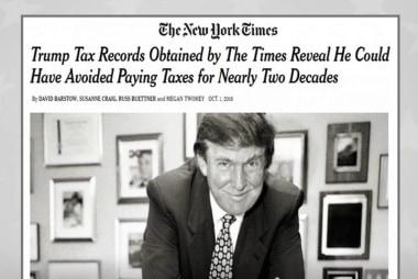Did Donald Trump dodge taxes?