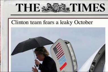 Clinton campaign braces for more leaks