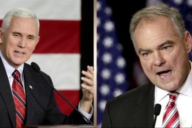 VP debate set for Tuesday night