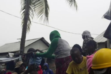Hurricane Matthew slams into Haiti