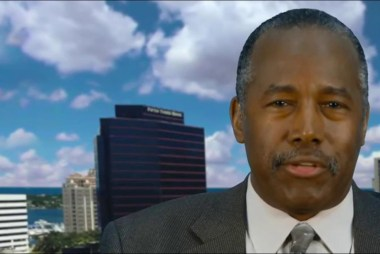 Carson: Trump shouldn't say a group is 'weak'