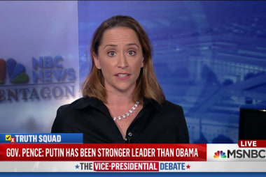 Record refutes Pence denial of Putin remark