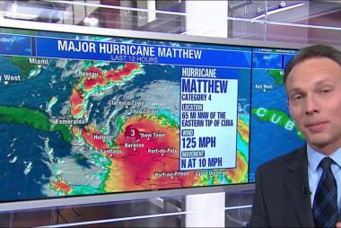 Evacuations begin ahead of Hurricane Matthew