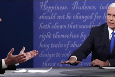 Pence: Meaningful in a meaningless debate?