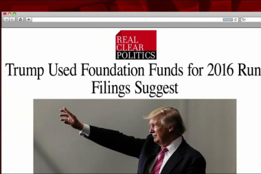 Trump used foundation funds for '16 bid:...