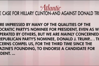 The Atlantic makes only its third endorsement