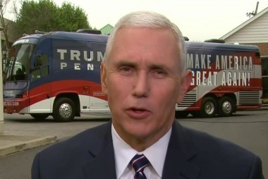 Pence: I do think Donald trump won VP debate