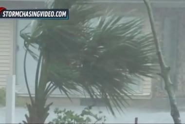 Monster storm crawling north along Florida...