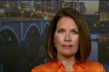 Bachmann is still voting for Trump