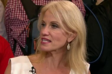 Conway: I'll stick with Trump 'unless...'