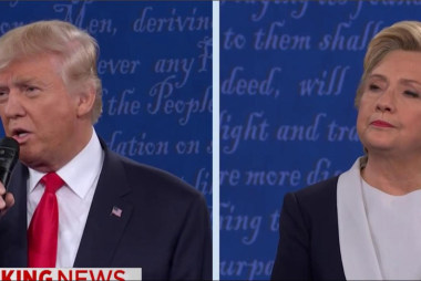 Biggest moments of the second debate