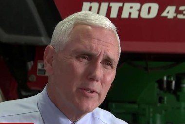 Mike Pence: GOP leaders should support Trump
