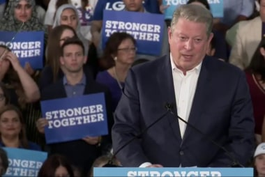 Gore warns millennials not to throw away vote