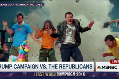 Trump Camp's 'Johnny Knoxville' strategy