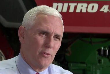 The challenges of being Mike Pence
