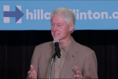 Bill Clinton says Trump base 'rednecks'