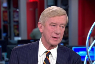 Weld: We're like the Blair, or Clinton of '96