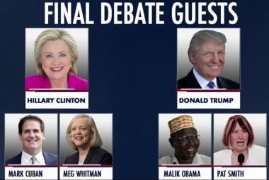 Clinton, Trump prepare for final 2016 debate