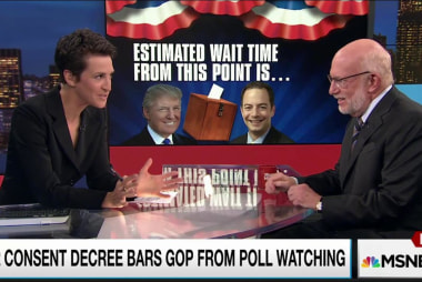 RNC tries to wall off Trump on poll watching