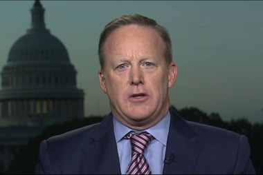 Sean Spicer: This race is not at all over