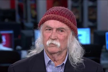 David Crosby: Female POTUS would do a...