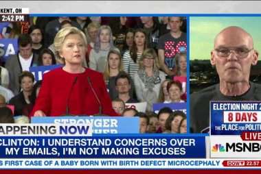 Carville: 'Democracy under assault'