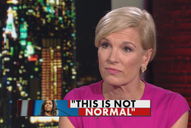 Cecile Richards reacts to Michelle Obama...