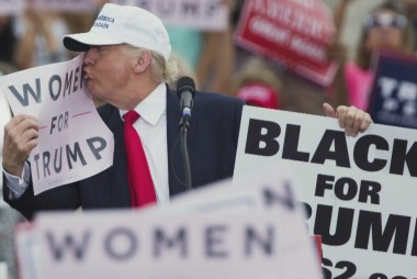 About those 'Blacks for Trump' signs...