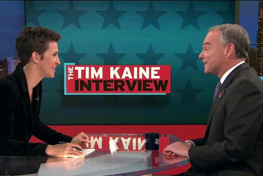 Kaine presses role for Congress on ISIS fight