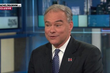 Kaine: This will be my first female boss
