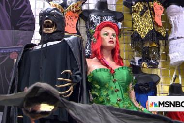 A costume shop excels at predicting...