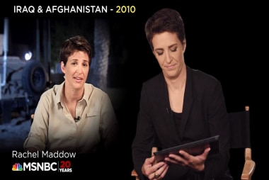 Rachel Maddow on her visits to Iraq and...