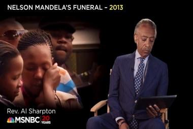 Rev. Al Sharpton remembers Nelson Mandela