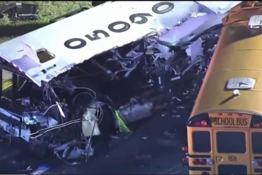 At least 6 dead in Baltimore bus crash