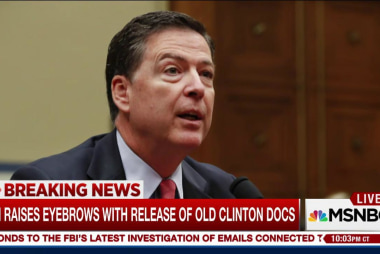 New release of old Clinton docs by FBI...