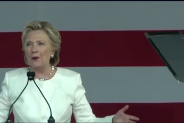 Clinton restarts advertising in blue states