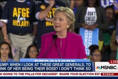 Hillary Clinton: Election is making people...