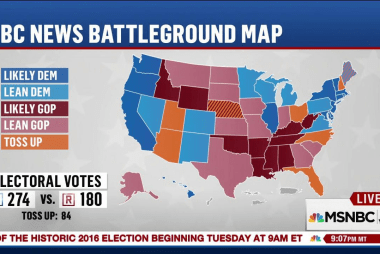 Chuck Todd: Campaigns are 'not fighting...